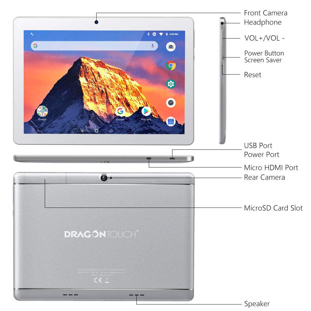 """Dragon Touch K10 Tablet 10"""""""