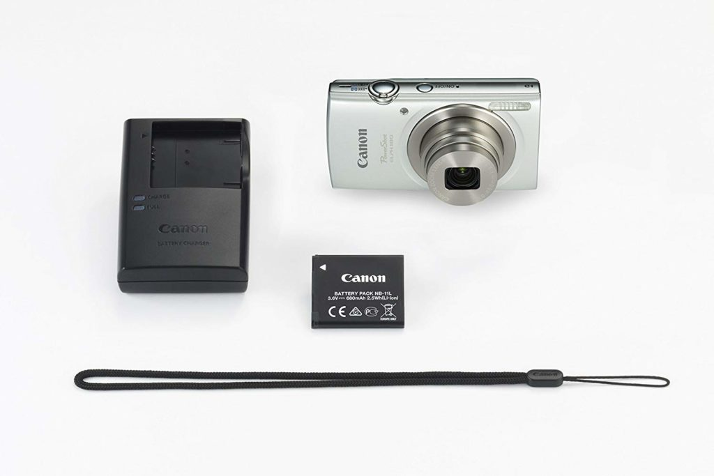 Canon PowerShot ELPH 180 package