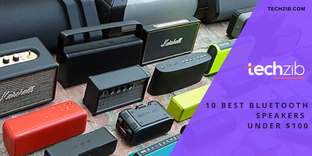 10 Best Bluetooth Speakers Under $100