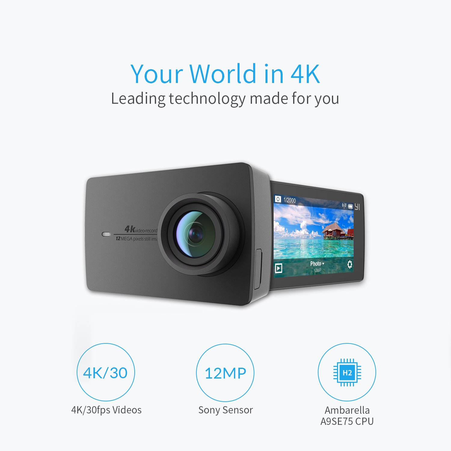 YI 4K Action and Sports Vlogging Camera