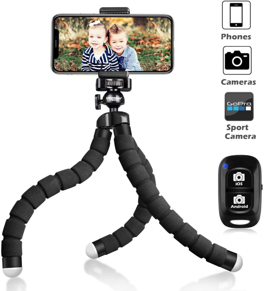 UBeesize FLEXIBLE CAMERA TRIPOD