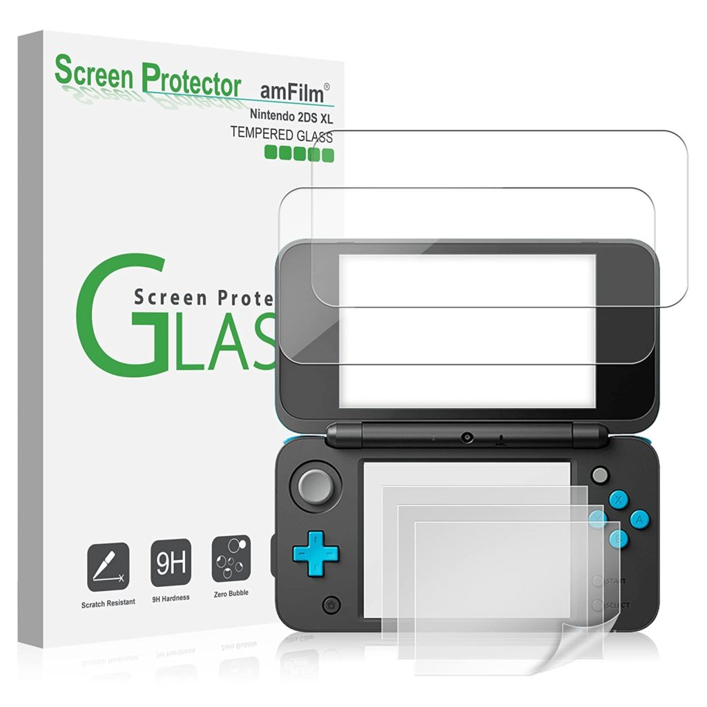 amFilm Nintendo 2DS XL Screen Protector